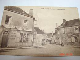 C.P.A.- Parcé (72) - Rue Du Moulin - Magasin Succursale Vins D'Anjou - 1922 - SUP (AI 55) - France