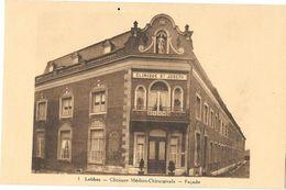Belgique - LOBBES - CLINIQUE MEDICO-CHIRURGICALE ST JOSEPH - FACADE -  Carte N° 1 Edition Belge à Bruxelles écrite 1933 - Lobbes