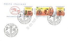 FDC Cavallino Italia Repubblica 2001 - IFAD FAO E PAM - NVG ** - Francobolli