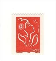Lamouche TVP Rouge De Roulette ITVF YT 3743b Sans Phosphore . Rare , Voir Le Scan . Cote Maury N° 3725c : 100 € . - Varietà: 2000-09 Nuovi