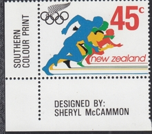 New Zealand 03.04.1992 Mi # 1219 Barcelona Summer Olympics (I) MNH OG - Verano 1992: Barcelona