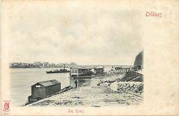18-4478 : ORLEANS. BORDS DE LOIRE. LES QUAIS. CARTE PRECURSEUR. - Orleans