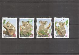 """Formose-taiwan - Koalas ( 2702/2705 Surchargés """"SPECIMEN"""" à Voir) - Ungebraucht"""