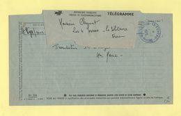 Telegramme - Pour Fuveau De St Pys Sur Mer - 1973 - Telegramas Y Teléfonos