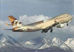 Etihad Cargo Boeing 747-400F N476MC B747 INDIA B 747 - 1946-....: Moderne