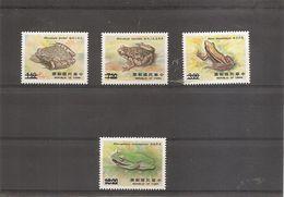 """Formose-taiwan - Grenouilles ( 1751/1754 Surchargés """"SPECIMEN"""" à Voir) - Unused Stamps"""