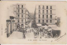 ALGERIE - ALGER - RUE MARENGO - ( MARCHE) - PRECURSEUR - Alger