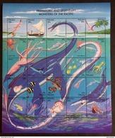 Palau 1993** Mi.633-57 Prehistoric Animals MNH [21;56] - Prehistorics