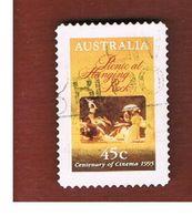 AUSTRALIA  -  SG 1538  -      1995  CINEMA: PICNIC AD HANGING ROCK                  -       USED - 1990-99 Elizabeth II