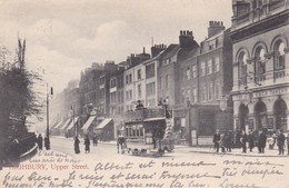 HIGHBURY / UPPER STREET / TRES BELLE CARTE / CIRC1903 - London Suburbs