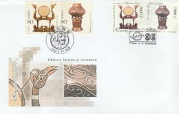 JOINT ISSUE, ROMANIAN AND CHINESE ART, COVER FDC, 2004, ROMANIA-CHINA - Joint Issues