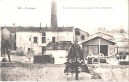 FR66 PERPIGNAN - Brun 630 - Usine à Gaz - Syndicat Agricole - Attelage - Animée - Belle - Perpignan