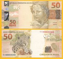 Brazil 50 Reais P-256b 2010 UNC - Brazil