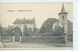 Poulseur Eglise Et La Gare - Comblain-au-Pont