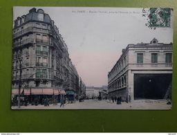 CPA -  PARIS - Rue De L'Arrivée, Prise De L'Avenue Du Maine - Colorisée - District 15