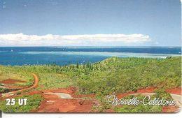 CARTE-PUCE-NOUVELLE-CALEDONIE-25U-GEM A-NC97-ROUTE Du PORT BOISE-UTILISE-TBE - New Caledonia