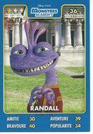 Carte Disney Pixar Auchan 2015  N° 36 MONSTRES Académy  RANDALL - Disney