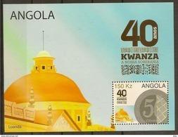 ANGOLA 2017 40th ANNIVERSARY OF KWANZA - Angola