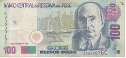 BILLETE DE PERU DE 100 NUEVOS SOLES DEL AÑO 2006  (BANKNOTE) - Peru