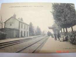 C.P.A.- Saint Georges Sur Eure (28) -  Gare De La Taye - 1914 - SUP (AI 65) - France
