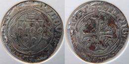 Rhône Alpes Auvergne Allier Saint Pourçain Sur Sioule 1498 Blanc Aux Couronnelles Louis XII - 987-1789 Monnaies Royales