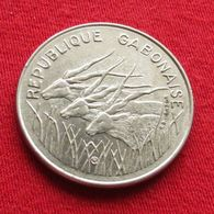 Gabon 100 Francs 1972 KM# 12  Gabão Gabonaise - Gabon