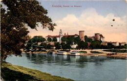 Krakow - Zamek Na Wawelu * 4. 10. 1914 - Polen