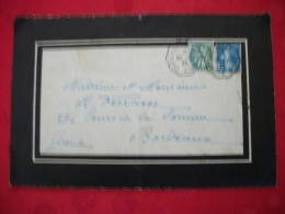 L9 8643 LETTRE ILLUSTREE OBLITEREE 1925 CELEBRANT LA FÊTE DU PERE CENT - Documents