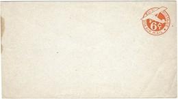 Letter U.S. Postage Via Air Mail 6c (plain Orange Stamp) New Letter, Not Posted (2scans) - Etats-Unis