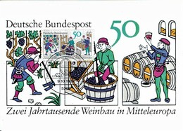 Germany - Mi-Nr 1063 Maxicard (S210) - Wein & Alkohol