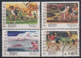 PORTUGAL 1978 Nº 1387/90 USADO - 1910-... République