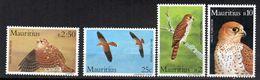 Serie Nº 594/7 Mauritius - Águilas & Aves De Presa