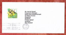 Brief, EF Flickingeria, MS Vila Postage Paid, Nach Auckland 2003 (54435) - Vanuatu (1980-...)