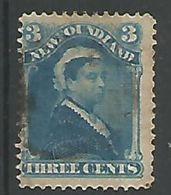 Victoria 3c Blue - 1865-1902