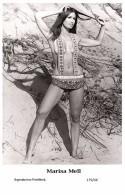 MARISA MELL - Film Star Pin Up PHOTO POSTCARD- Publisher Swiftsure 2000 (179/46) - Postcards
