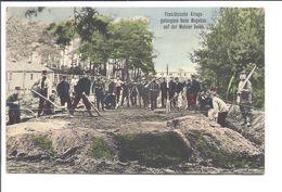 Prisonnier De Guerre Kriegsgefangenenpost 1914-18 Französische Kriegsgefangene Beim Wegebauauf Der Wahner Heide - Weltkrieg 1914-18