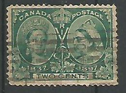 Anniversaire Du Regne Victoria 2c Vert - Used Stamps