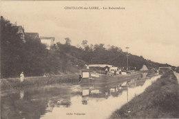°°°°°  45 CHATILLON SUR LOIRE :    Les Rabutteloirs Péniche     °°°°°  ////   REF.  JUILLET 18  /  BO. 45 - Chatillon Sur Loire