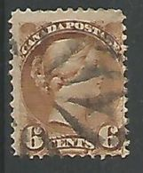 Victoria 6c Brun Yt 32 - Used Stamps