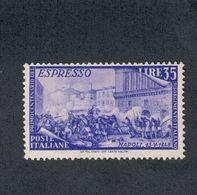 Espresso Risorgimento 35 Lire Nuovo ** Sassone E.32  Cod.FRA.1111 - 1946-60: Ungebraucht
