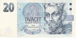 BILLETE DE LA REPUBLICA CHECA DE 20 KORUN DEL AÑO 1994 EN CALIDAD EBC (XF) (BANKNOTE) - República Checa