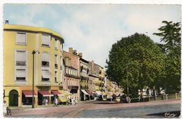 Roanne : Les Promenades Et La Rue Alsace-Lorraine (Combier Imp. Macon, CIM N°K 1327) - Roanne