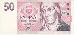 BILLETE DE LA REPUBLICA CHECA DE 50 KORUN DEL AÑO 1994 EN CALIDAD EBC (XF) (BANKNOTE) - República Checa