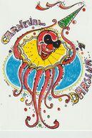 248-Cartolina Tematica Carnevale Di Viareggio-Carnevaldarsen1999-Bollo/annullo Speciale Figurato-Pubblicità Idro Nautica - Carnaval