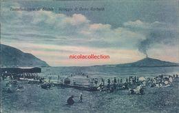 Ah367 - Castellammare Di Stabia - Napoli - Spiaggia Di Corso Garibaldi--regno - Napoli (Napels)