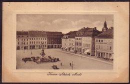 POLAND 1923 Postcard Pommern Kustrin, Kostrzyn Altstadt Old Town Square. W553 - Polen