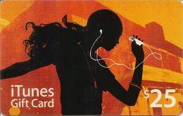 ITunes GIFT Card $25 - Cartes Cadeaux