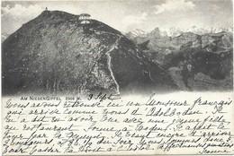 Am Niesengipfel 2366 M.  Niesen-Kulm 59. 1906 Carte Postage écrite (2scans) - BE Berne