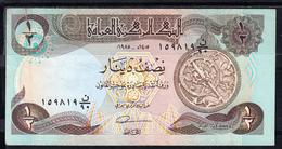 IRAQ 1980     MEDIO DINAR .  PICK Nº 68  EBC   B155 - Iraq
