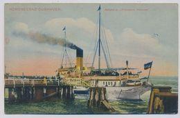 Cuxhaven Salondampfer Prinzessin Heinrich About 1910y.   E402 - Cuxhaven